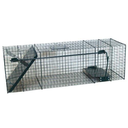 Große 75cm Marderfalle Lebendfalle Katzenfalle Fuchsfalle Waschbärfalle mit extra großem Eingang 5087